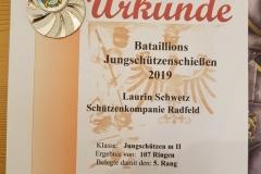 Urkunde Laurin Schwetz (Medium)